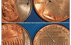 Diagnostics of Fake and Genuine Unplated Zinc Cents